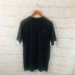 Men's Black Jordan Tee Sz XL M09